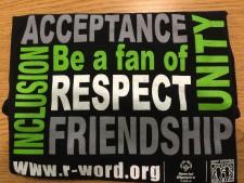 Respect T-shirts $10