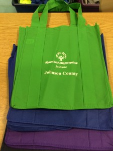 Special Olympic Reusable Tote Bags $4