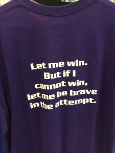 SO Athlete Oath Purple T-shirt $12 (back)