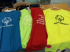 SO Athlete Oath T-shirts $12 Colors available: Blue, Red, Green, Purple, Pink, Neon Yellow