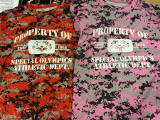 Athletic Dept Camo Shirts $20 (Moisture Wicking material)