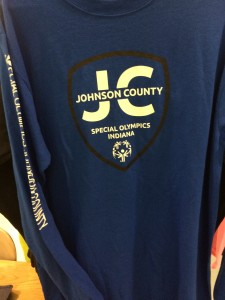 Blue Long Sleeve shirt W/SOJC Shield $17